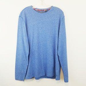 Robert Graham Lightweight Blue Sweater Large